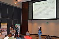 WikiLearningPresentation1Wikimania2015 05.JPG
