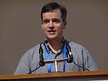 Wikimania 2008 - Closing Ceremony - Michael Snow - 5.jpg