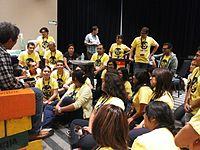 Wikimania 2015-Wednesday-Volunteers at Wikimania (14).jpg