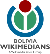Wikimedians of Bolivia User Group Logo PNG version2.png