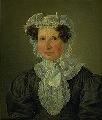Portræt af jomfru Nissen
