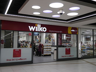Kings Mall - Image: Wilko, Kings Mall, Hammersmith 01