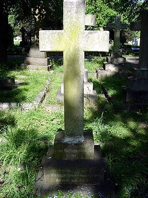 William Macpherson - Funerary monument, Brompton Cemetery, London
