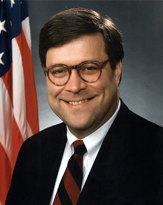 William Barr - Official photo of Barr during his first tenure as Attorney General