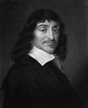 English: Portrait of Rene Descartes, the Frenc...