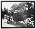 William McKinley and another man seated in a carriage enroute to or from the U.S. Capitol on the day of his inauguration LCCN2004673405.jpg