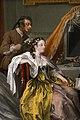 William hogarth, marriage a-la-mode, 1743 ca., 04 la toeletta, 4.jpg