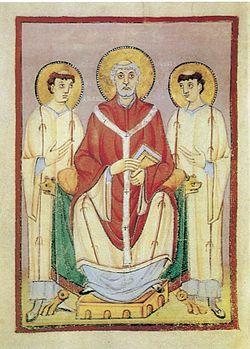 Szent Willibrord két diakónussal