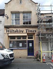Wiltshire Times office, Duke Street, Trowbridge (geograph 6142468).jpg