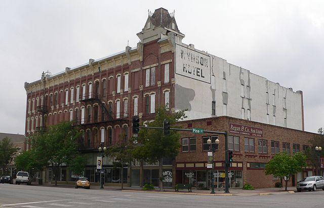 File Windsor Hotel Garden City Ks 4 Jpg Wikipedia