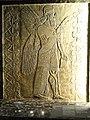 Winged genie fertilizing a date tree, Palace of Ashurnasirpal II, Nimrud, Assyria, 884-860 BCE - Nelson-Atkins Museum of Art - DSC08124.JPG