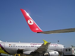 Winglets B737 800 and AB319.JPG