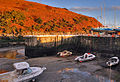 Winter evening at Laxey Harbour - geograph.org.uk - 638283.jpg