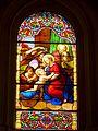 Wissous (91), église Saint-Denis, chapelle latérale, vitrail n° 2.jpg
