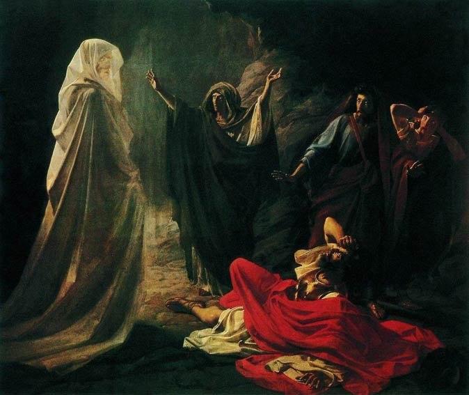 Witch of Endor (Nikolay Ge)
