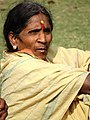 Woman in Garden of Anand Bhavan (Nehru House) - Allahabad - Uttar Pradesh - India (12565962115).jpg