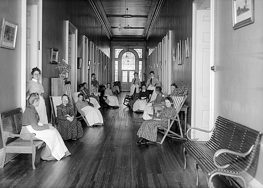 Women's Corridor Insane Asylum