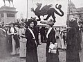 Women's Suffrage Pilgrimage in Cathays Park, Cardiff 1913.jpg