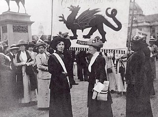Womens suffrage in Wales