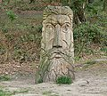 Wood carving at Beacon Hill - geograph.org.uk - 409992.jpg