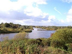 Woolston, Cheshire - Image: Woolston River Mersey