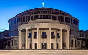 Wroclaw- Hala Stulecia, widok od frontu.jpg