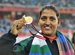 Krishna Poonia Indian politician & former athlete