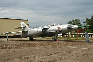 Yakolev Yak-28L Brewer-B 09 red (7903015146).jpg