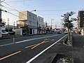Yamaguchi Prefectural Road No.228 in front of Asa Station.jpg
