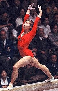 Yelena Volchetskaya artistic gymnast