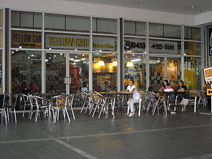 Yellow Cab Pizza - A typical branch at SM City Clark in Angeles City, Philippines