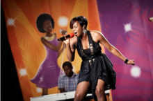 220px Yemi Alade performing on the maiden edition of Peak Talent Show in 2009