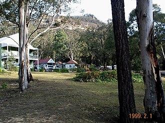 Yerranderie - General view of Yerranderie