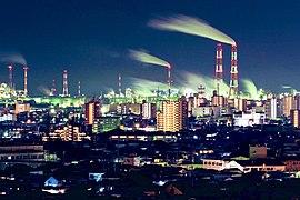 YokkaichiCity NightView from TarusakaPark
