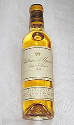 Château d'Yquem 1999, a noble rot wine