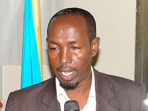 Mayor of Mogadishu - Image: Yusuf h j