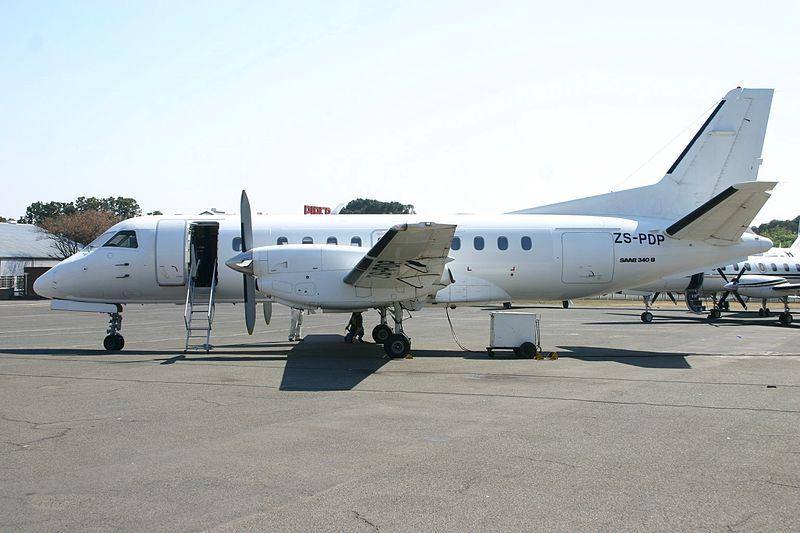 File:ZS-PDP Saab SB.340B All White C-s (7684873202).jpg