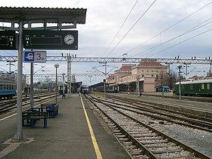 Zagreb Glavni kolodvor - Image: Zagrebacki Glavni kolodvor