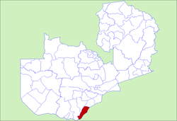 Zambia Sinazongwe District.png
