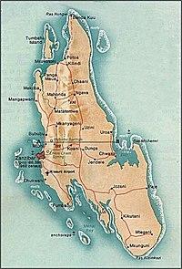 kart over zanzibar Zanzibar – Wikipedia kart over zanzibar