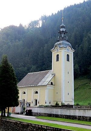 Železniki - Saint Francis Xavier Church