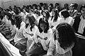 Zuid-Molukse meisjes tijdens de kerkdienst, Bestanddeelnr 927-8923.jpg