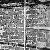 zuid-gevel, overgang tufsteen schip (bakstenen koor) - baflo - 20027413 - rce