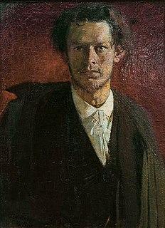 Oskar Zwintscher German painter