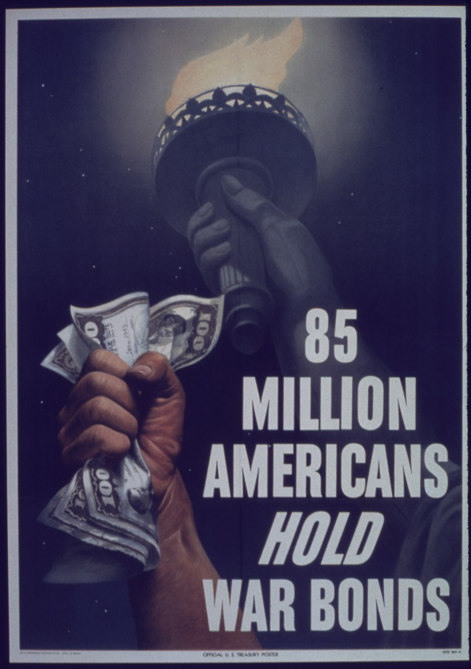 """85 Million Americans Hold War Bonds"" - NARA - 514205"