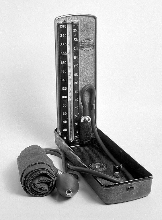 """File:""""Baumanometer""""; instrument for measuring blood ... Measuring Instruments"""