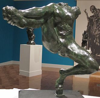 Iris Cantor - Iris, Messenger of the Gods by Auguste Rodin, bronze, modeled 1891, property of Iris Cantor