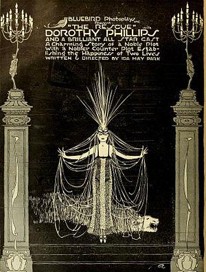 The Rescue (1917 film) - Ad for film
