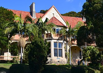 Bellevue Hill, New South Wales - Image: (1)Fairfax House