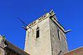 Église Saint-Clair d'Hérouville cadran solaire sud.JPG
